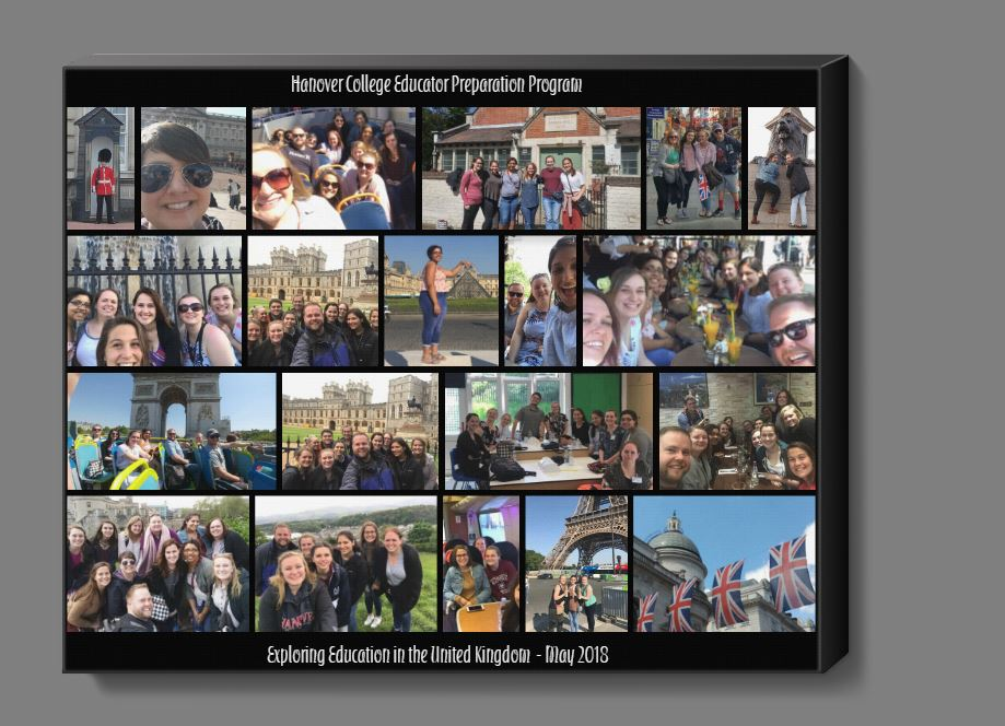 collage of photos from UK 2018